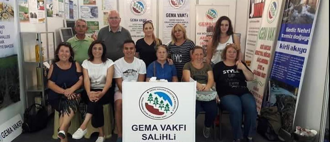 Gema Vakfı İzmir Enternasyonal Fuarında